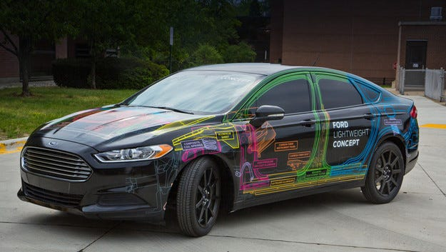 Американската компания Ford представи свръхлек Fusion