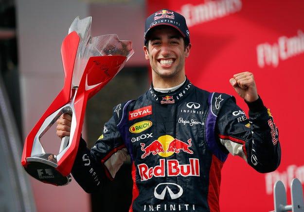 Гран при на Канада: Рикардо спечели първата си победа