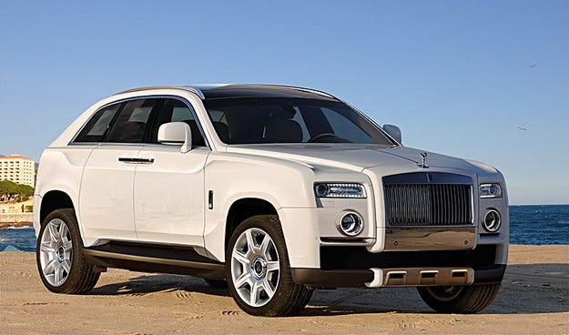 Rolls-Royce определи името на бъдещия си SUV модел