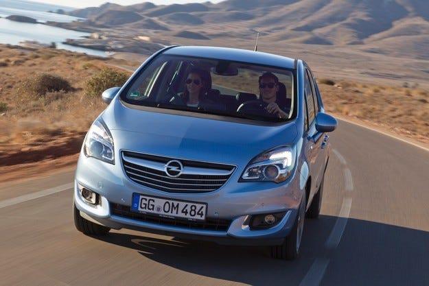Новият Opel Meriva: Дизел и икономична версия с 95 к.с.