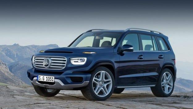 Кросоувърът GLB създава нова ниша в гамата на Mercedes