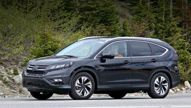Обновена Honda CR-V в средата на следващата година