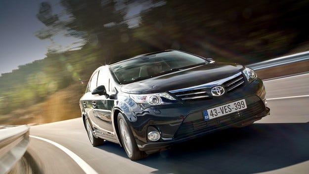 Европейците без ново поколение Toyota Avensis