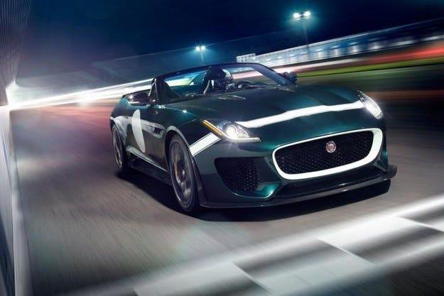 Jaguar представя най-бързия си роудстър в Гудууд