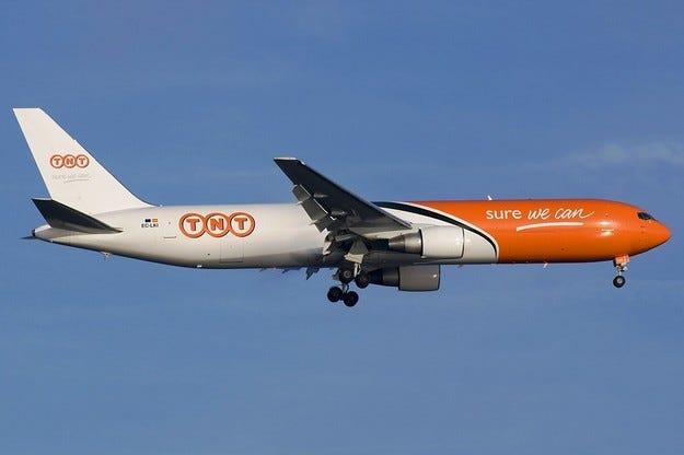 TNT Express печели договор с Lufthansa Bombardier