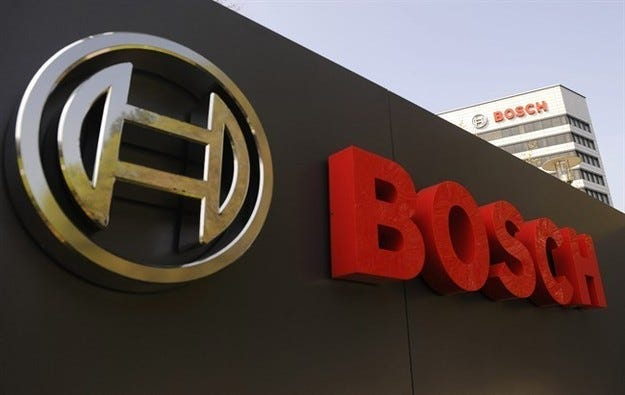 Bosch със силен ръст на продажбите във всички бизнес сектори