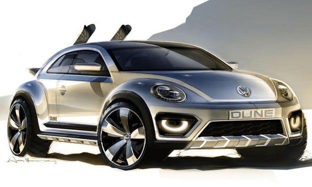 Volkswagen подготвя високопроходима версия на Beetle