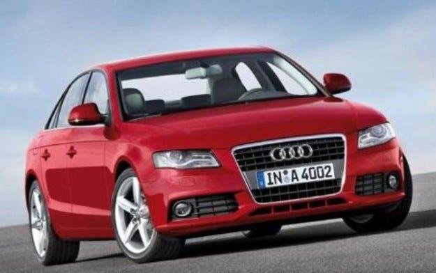 Audi A4: Задругата на пръстена