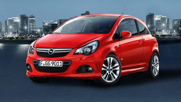 """""""Напомпан"""" Opel Corsa с 200 конски сили"""