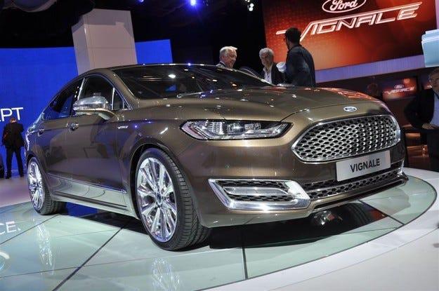 Новият Ford Mondeo ще има обща платформа с Lincoln