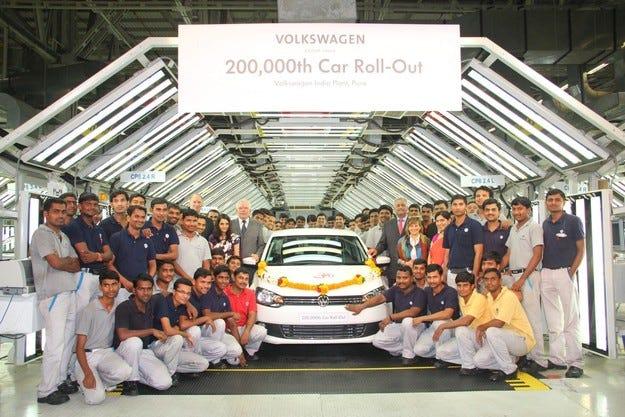 Volkswagen инвестира 250 млн. долара в Индия