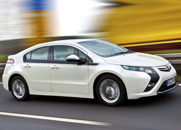 Opel прекратява производството на Ampera