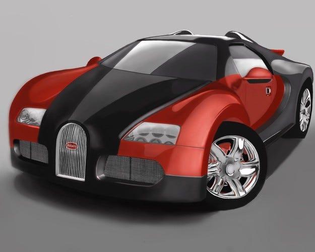 Bugatti пуска нов супер модел през 2016 г.