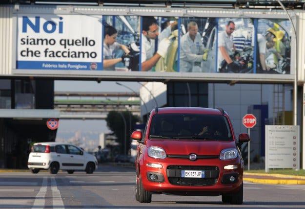 Fiat отчита спад на печалбата за второто тримесечие