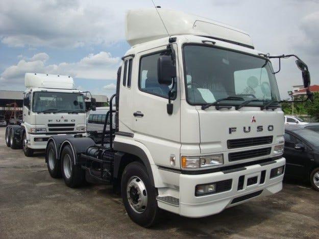 Mitsubishi пуска в производство камион с електромотор