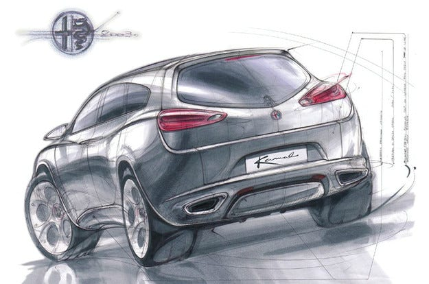 Alfa Romeo ще пусне на пазара кросоувър през 2016 г.