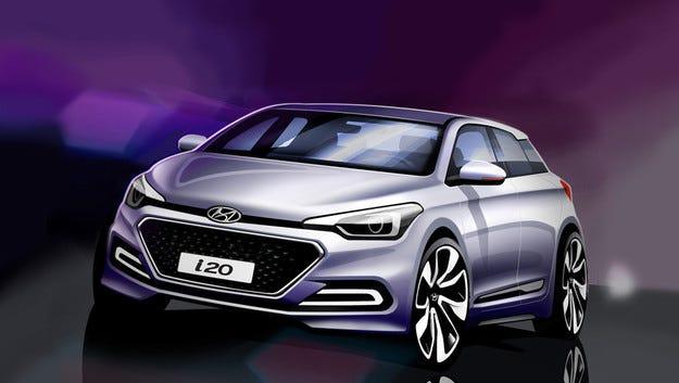 Hyundai свали завесата пред новия хечбек i20