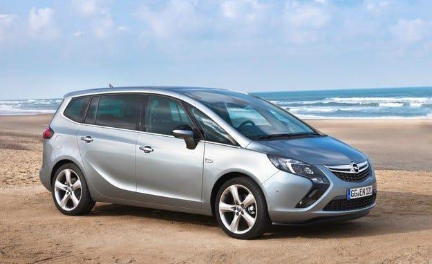 """Opel Zafira Tourer вече с """"шептящия дизел"""" със 120 к.с."""