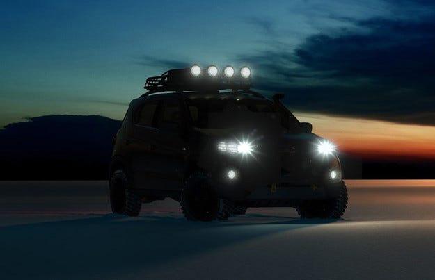 Първо подгряващо изображение на новия Chevrolet Niva