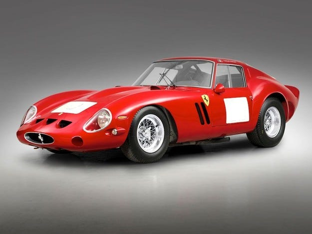 За 38 милиона долара продадоха Ferrari от 1962 година