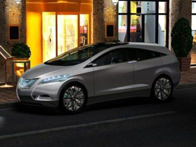 Hyundai i-Blue Fuel Cell: iCar