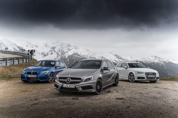 Audi и Mercedes настигат BMW в глобалната надпревара на продажбите на луксозни автомобили