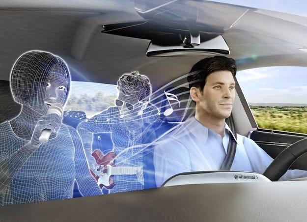 Continental въвежда 3D звуково изживяване в автомобила