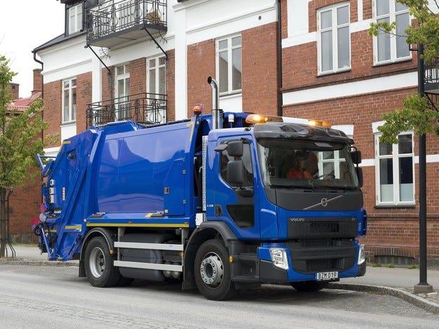 Volvo Trucks пуска товарен автомобил от серията FE, работещ на газ