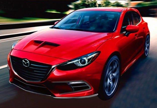 Mazda3 MPS ще получи двойно задвижване