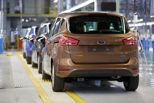 Ford пак спира производството на B-Max през септември