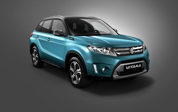 Suzuki с изцяло ново поколение Vitara в Париж