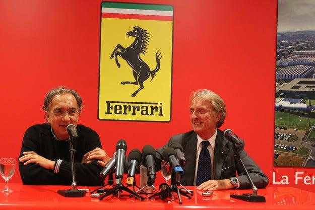 Маркионе: Проблемът на Ferrari са двигателите