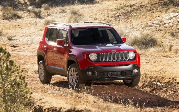 Jeep Renegade стартира в бързо разрастващ се сегмент