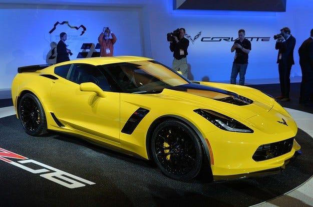 General Motors спира доставките на Chevrolet Corvette