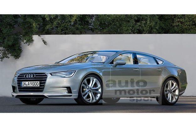 Разкриват Audi A9 на автомобилното шоу в Лос Анжелис