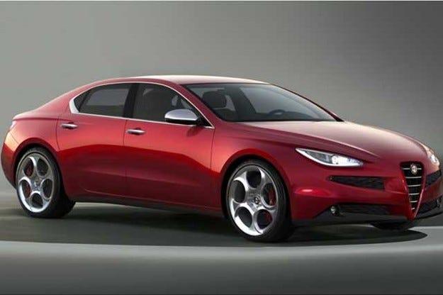 Alfa Romeo ще покаже модела Giulia през 2015 г.
