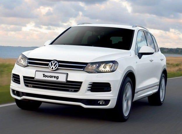 Volkswagen Touareg получава нов дизелов мотор