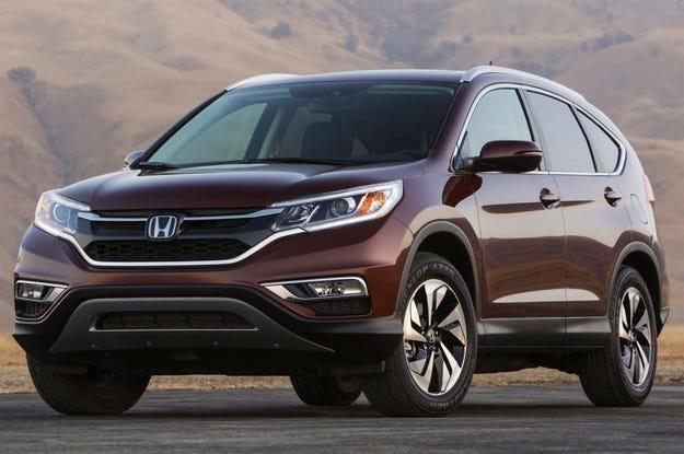 Разсекретиха в мрежата обновения Honda CR-V