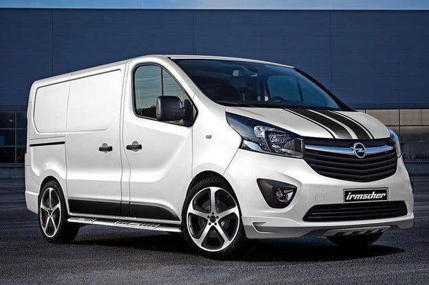 Irmscher Opel Vivaro: Транспортерът става тран/спортен