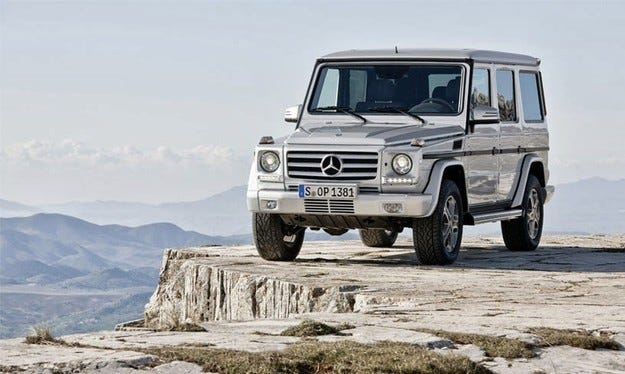 Mercedes подготвя нов компактен всъдеход