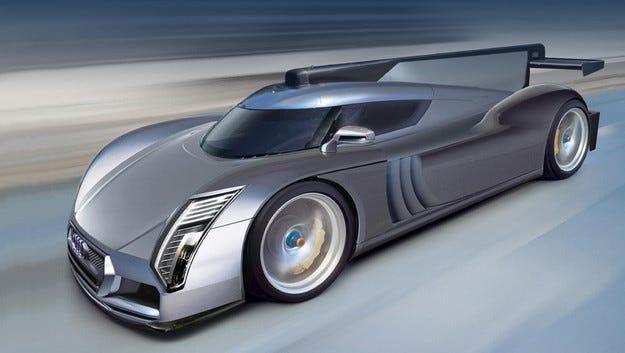 Audi одобри крайния проект на хипермодела R10