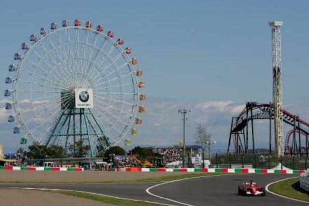"""""""Сузука"""" се завръща във Формула 1 през 2009 година"""