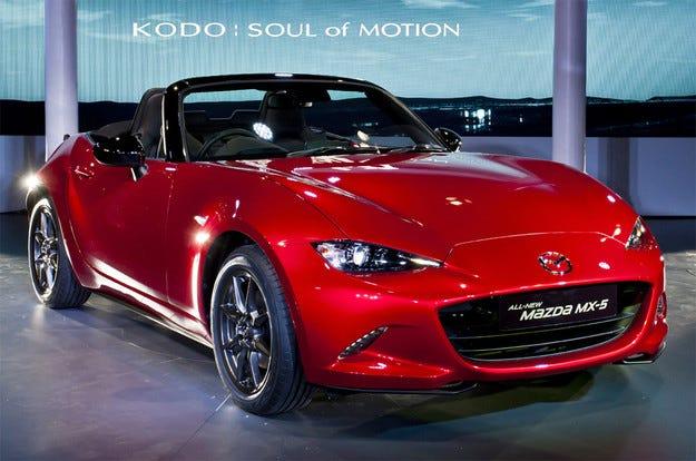 Mazda MX-5 ще се появи на пазара през юли 2015 г.