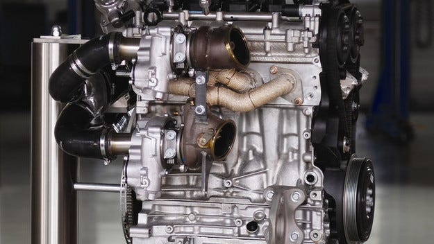 Новият Volvo Power битурбо двигател с 450 к.с.