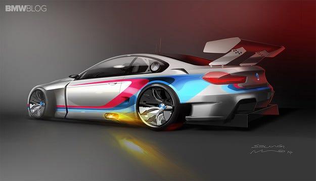 BMW разработва състезателна версия на M6