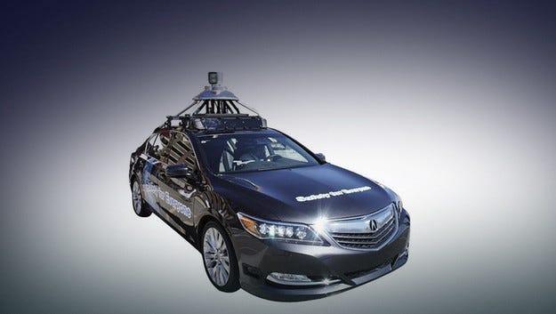 Автомобилите на Honda могат да пазят пешеходци