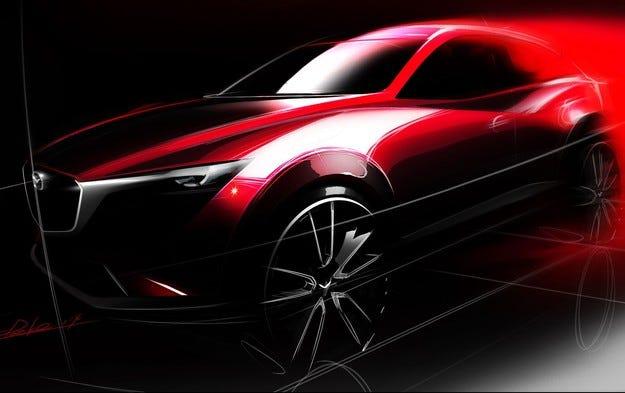 Определиха датата на премиерата на кросоувъра Mazda CX-3