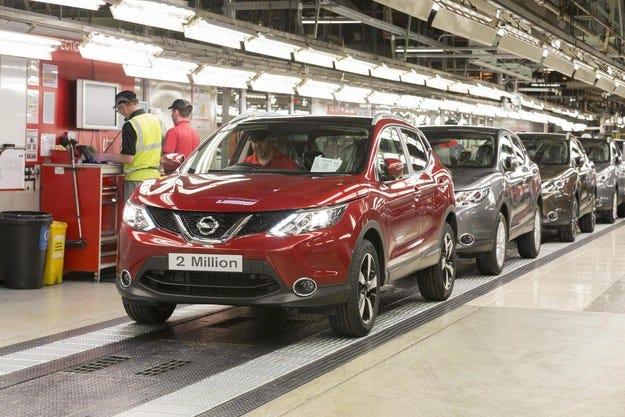 Двумилионният Nissan Qashqai слезе от конвейера
