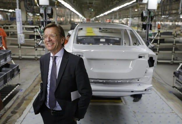 Шефът на Volvo прогнозира успешна 2015 г.