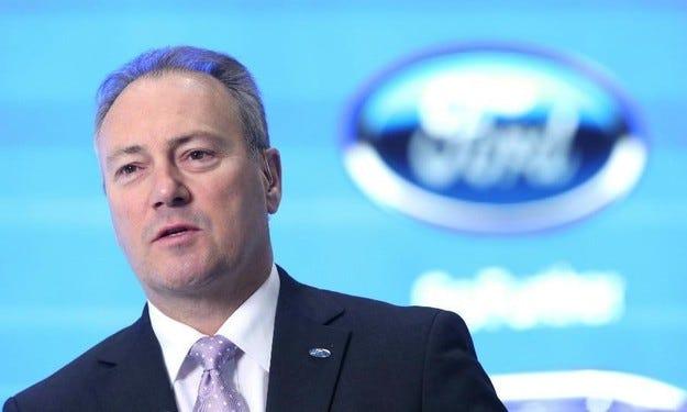 Ford ще смени шефа на компанията за Европа